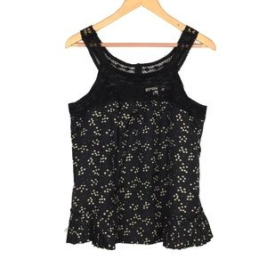 Rebecca Taylor asterisk star print pleated top